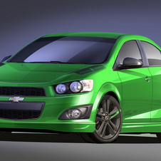 The Sonic Z-Spec 1 is available now at Chevy dealers from the parts catalog