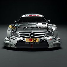 Mercedes unveil new 2012 DTM challenger