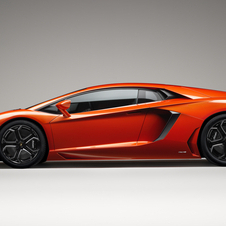 The Aventador has a 18-month waiting list