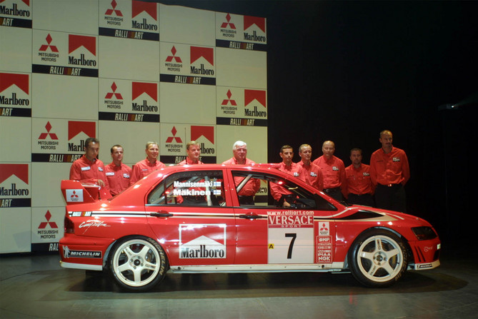 The Lancer Evolution also became a multiple rally winner