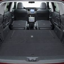 There is also a larger rear cargo area