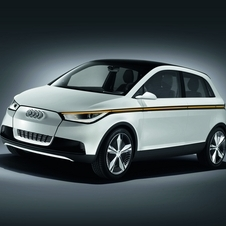 The A2 concept that Audi showed in 2011 used an electric motor