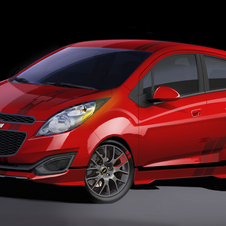 Chevy is also working on tuning kits for the new Spark