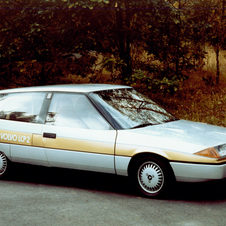 The concept began work in 1979 but was first shown in 1983