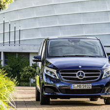 At its market launch, the new V-Class will be available with a turbodiesel engine in three output ratings