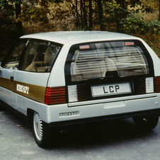 The design was a simple wedge to save on materials