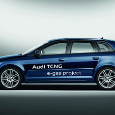 Audi already has a version of the A3 capable of running on e-gas or compressed natural gas
