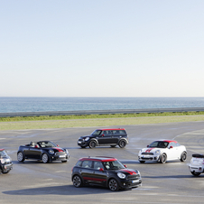 The cars are meant to be the most powerful cars in the Mini range