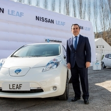 Nissan has been trying to push sales of the Leaf, but sales are still slow
