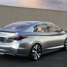 Infiniti LE Concept Offers Full Electric Driving in a Luxury Seda