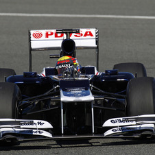 Williams Team Fastest in Testing; Lotus Gets Extra Testing Day