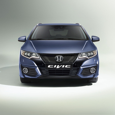The Civic Tourer has a new sportier design