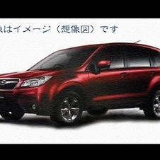 The new Forester looks sleeker and less blunt than the old one