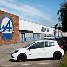 The former Alpine factory is still used to build RenaultSport models