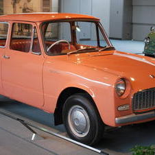1961- Toyota Publica launched