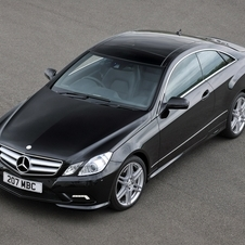 Mercedes-Benz E 250 BlueEfficiency Coupé Elegance