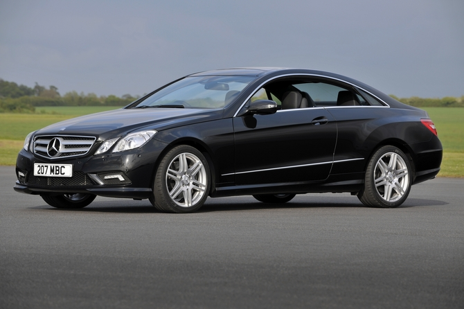 Mercedes Benz E 200 Cgi Blueefficiency Coup 233 Elegance