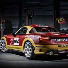 was developed by Abarth Racing Team and was developed in accordance to FIA's R-GT regulations
