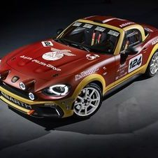 Abarth's goal is to build some units of the 124 Rally for rally private teams