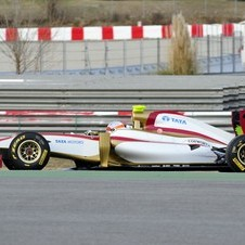 HRT Finally Reveals F112 2012 Formula 1 Car