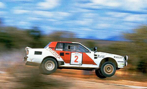 The TA64 was Toyota's Group B car
