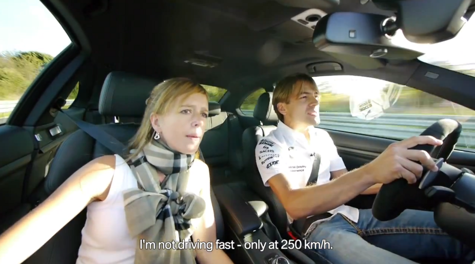 BMW DTM Driver Augusto Farfus Laps the 'Ring While His Wife Screams