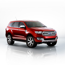 Production version of the Everest should be produced in partnership with JMC, chinese joint-venture partner of Ford in China