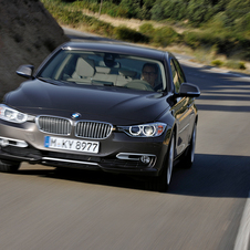 BMW 320d EfficientDynamics Luxury
