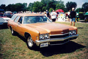 Chevrolet Kingswood Station Wagon