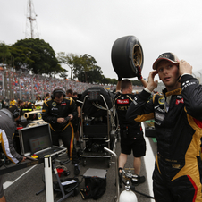 He returned to F1 last season to race for Lotus