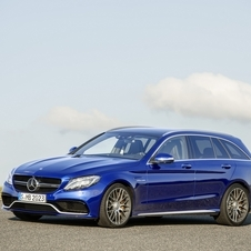 The Mercedes-AMG C63 is also available with and estate variant