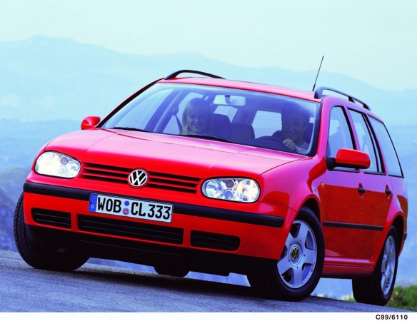 Volkswagen Golf 1.9 TDi Variant 4Motion photo :: Volkswagen gallery ...