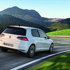 Volkswagen also added a rear spoiler, side sills and rear diffuser
