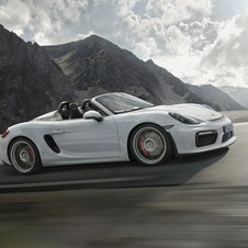 In terms of design the Boxster Spyder includes stylized elements that bring to mind Porsche's sports and competition models