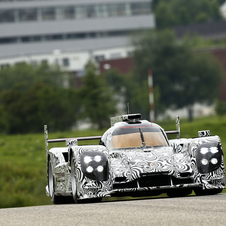 The LMP1 will make its competition debut next season