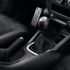 Pormenor do interior do Mégane Renaultsport 275 Trophy-R