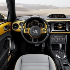The interior comes directly from the standard Beetle
