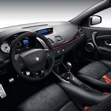 Detail of the interior of the Mégane Renaultsport 275 Trophy-R
