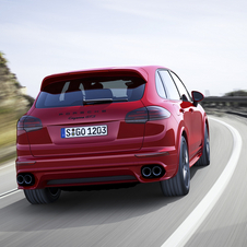 The new Cayenne GTS can reach 100km/h in 5.2 seconds