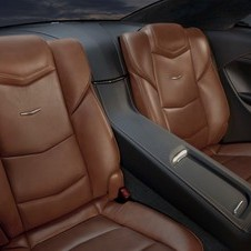 Even the tiny rear seats are covered in high-quality leather