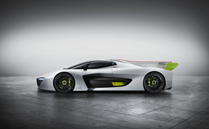 The vehicle reaches a top speed of 300km/h and the 100km/h landmark is reached in 3.4 seconds