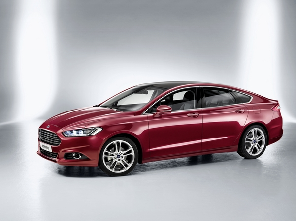 The new Mondeo shares just about everything with the new Fusion