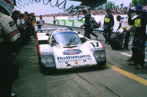 The 962 was Porsche's 80s Le Mans winner
