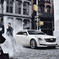 Cadillac CT6 2.0L I-4 turbo DOHC DI
