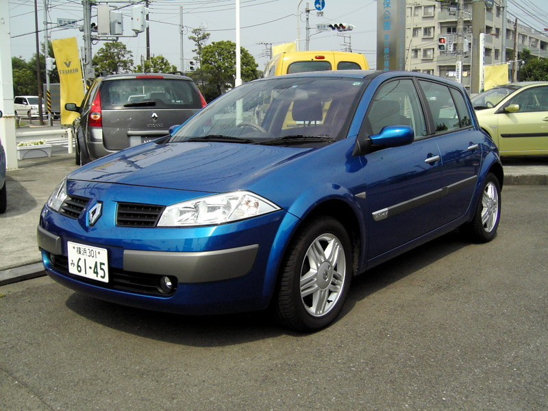 2003 renault megane ii hatchback 80 related infomation specifications weili automotive. Black Bedroom Furniture Sets. Home Design Ideas