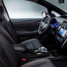 Nissan's Carwings system integrates the navigation, bluetooth and remote HVAC control
