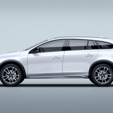 The new Volvo Cross Country model gets some unique design features that give a more all-terrain look