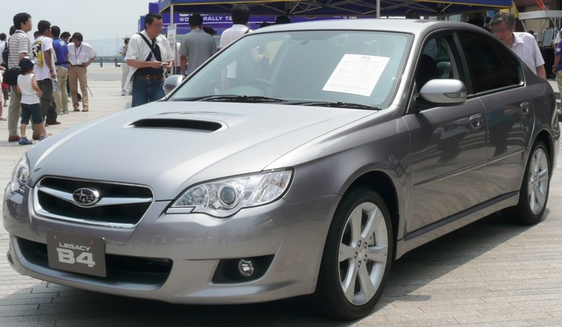 Subaru Legacy B4 2.0GT spec. B :: 1 photo and 57 specs :: autoviva.com