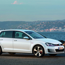 The Golf was the bestselling car in Europe by a large margin in the first half of the year