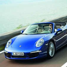 The Cabriolet also gets new upgrades like the extended Sport Chrono